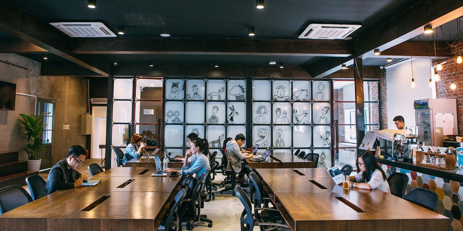 Working in Hanoi